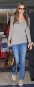 Elizabeth Hurley At JFK Airport in NY April 11th HQ x 8