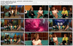 "MEREDITH VIEIRA - ""The View"" - (April 16, 2012) - *LEGS LEGS LEGS*"