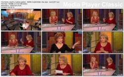 BARBRA WALTERS cleavage - The View - November 3, 2011 - *cleavage*