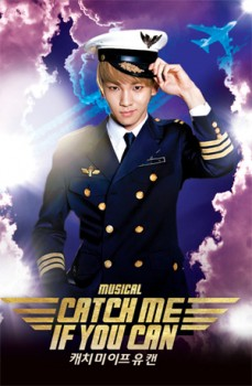 [Trad/Pics] Atualização no site do SHINee - Key no musical Catch Me If You Can 9af76d195012562